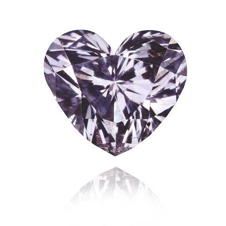 Diamant in Fancy-Grau-Violett mit 0,33 Karat