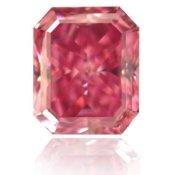 0.50 carat Fancy Vivid Purplish Pink