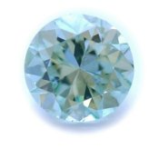 0.52 carat Fancy Intense Bluish GREEN