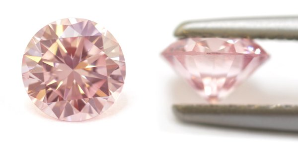 0.52-Carat, Fancy Light Pink