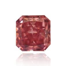 0.54 carat Fancy Vivid Purplish Pink Radiant Argyle Tender Diamond