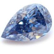 0.60 carat Fancy Vivid Blue