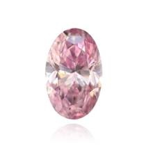 0.68 carat Fancy Intense Purplish Pink Oval Argyle Tender Diamond