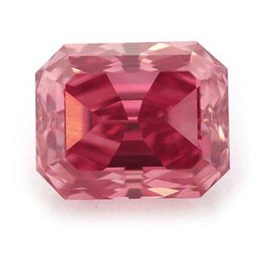 0.72 carat Fancy Vivid Purplish Pink