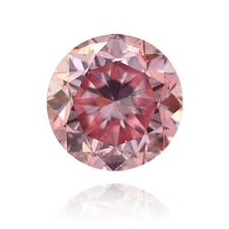 1.01 carat Fancy Intense Pink Round Argyle Tender Diamond