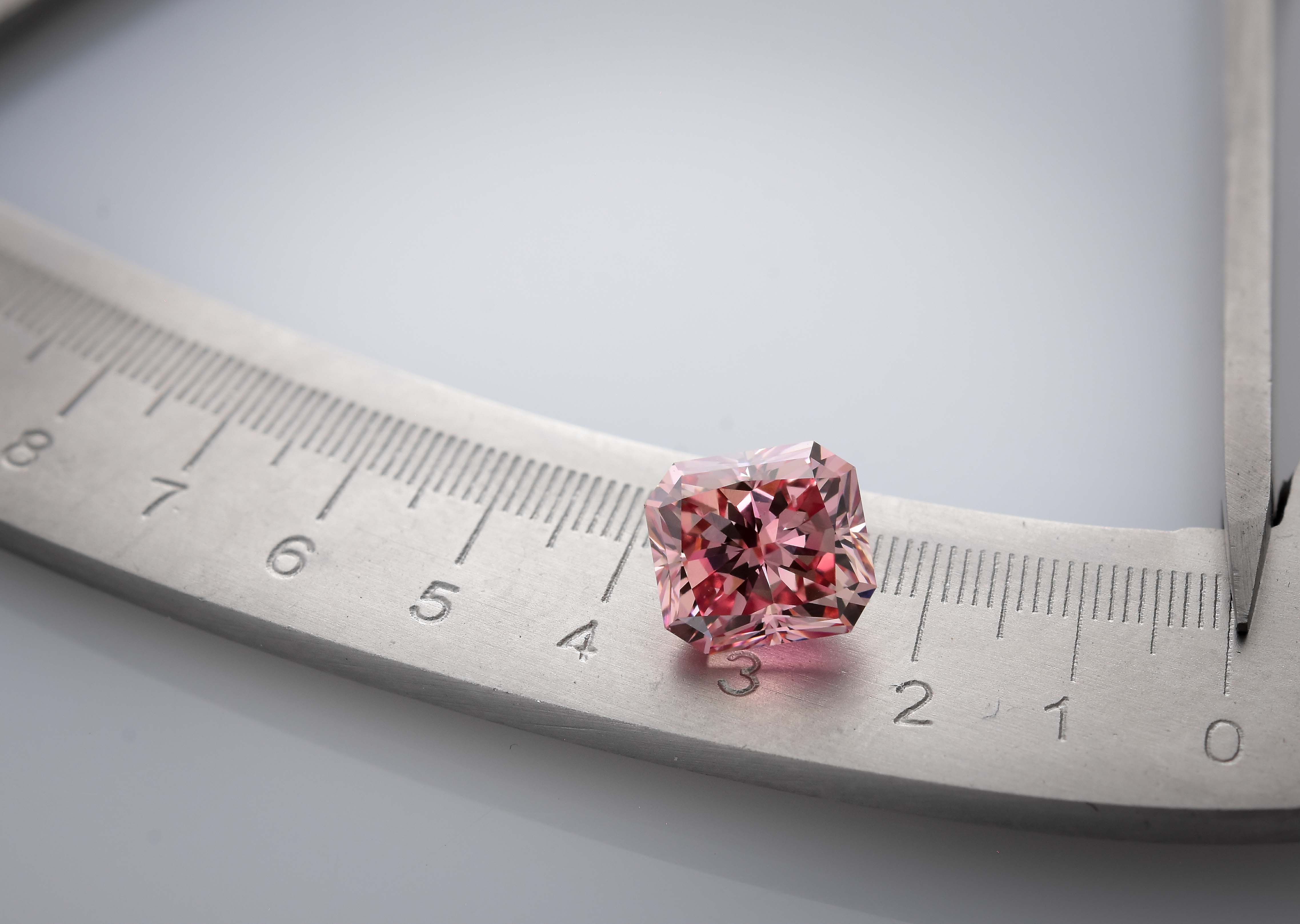 Intense Pink Diamond from the Argyle Mine