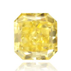 1.15ct Fancy Vivid Yellow Diamond