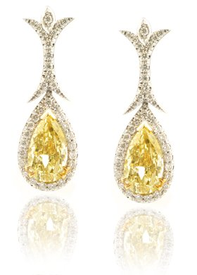 2.04 Carat, Fancy Light Yellow