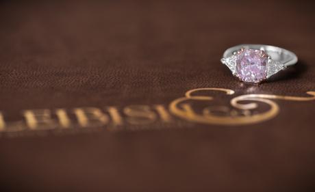 Leibish pink diamonds