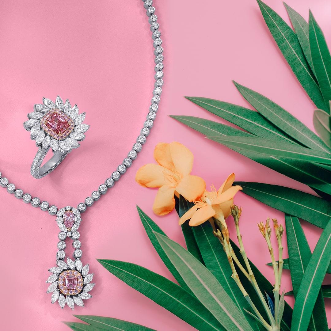 Argyle Pink Diamond Jewelry