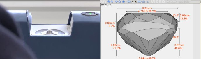 3D Diamond Scanner