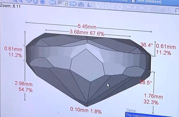 3D Scan of a Diamond