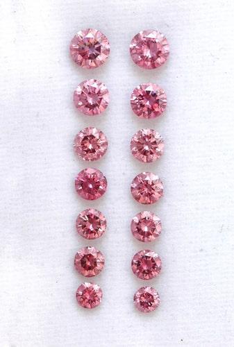 5.23 carat Argyle diamond parcel