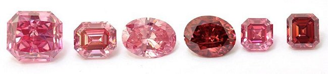 6 Stones won from the Argyle Pink Diamond Tender