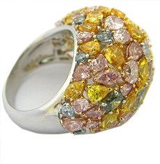 9.47ct Dome Ring P5005 - Designer Ring