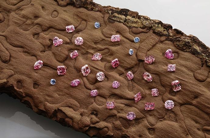 Argyle Tender Diamonds on Display