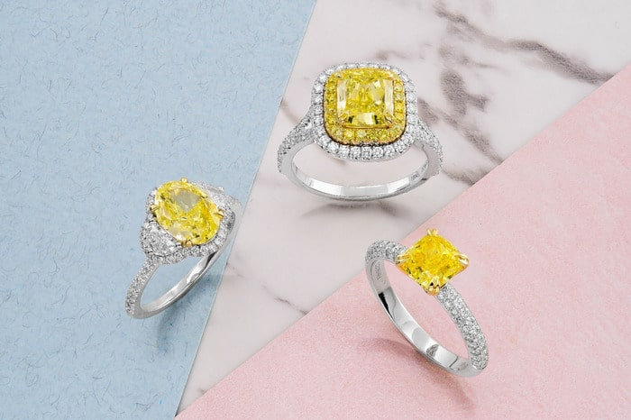 Yellow Diamond Jewelry