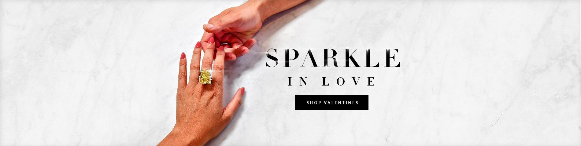 Valentines gift diamonds