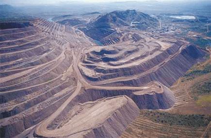 Argyle Mine in Western Australia