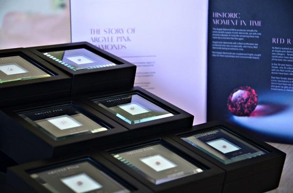 Argyle Diamonds won in the 2014 Tender