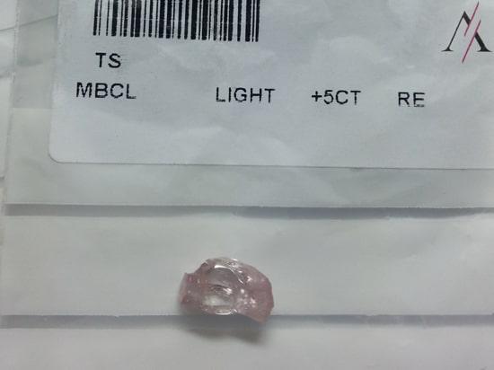Rough Argyle Pink Diamond