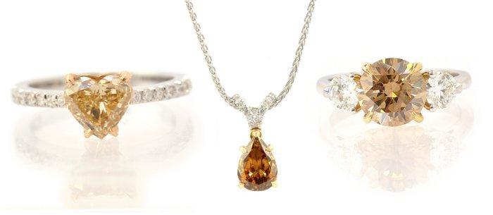 Brown Colored Diamond Jewelry