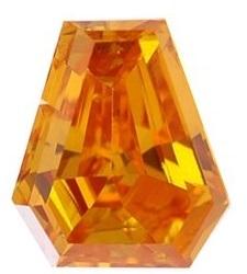 Fancy-Diamant in Fancy-Leuchtend Orange von Leibish & Co.
