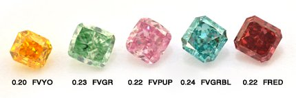 Collections of the Finest Color Diamond