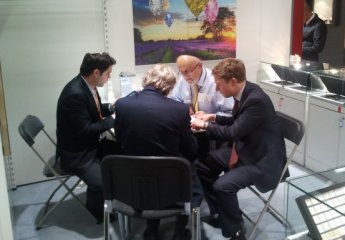 Conducting Business at Baselworld Show
