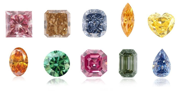 Diamond Shapes And Sizes