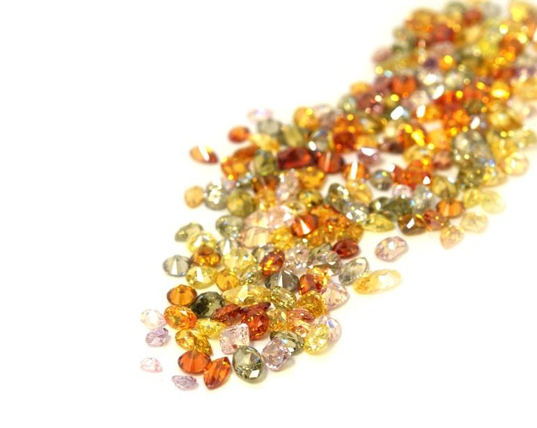 Fancy color diamonds collection