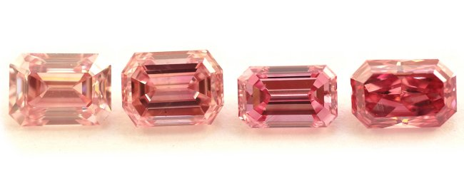 Fancy Intense Pink Diamonds