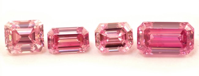 Fancy Intense Purplish Pink Diamonds