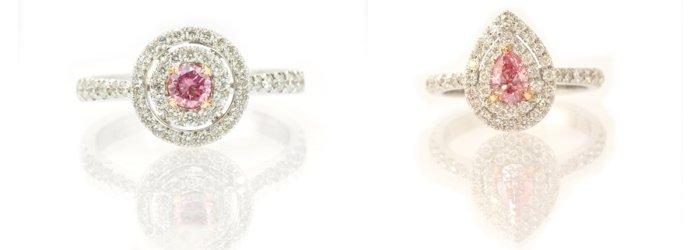 Fancy Intense Purplish Pink Diamonds