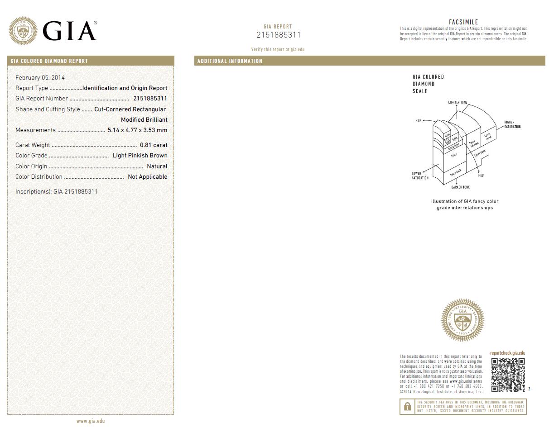 What Is Diamond Certification Leibish