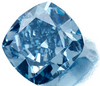 7.03ct Fancy Vivid Blue Flawless, The highest price ever paid for a diamond per carat.