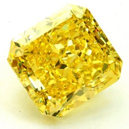 30+ Carat Fancy Vivid Yellow VS2