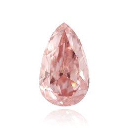 4.63-carat,Fancy Intense Pink, Pear-shape, VVs2 Clarity