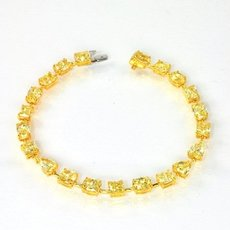 12.26 Carat, Fancy Intense Yellow, Mix