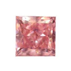 A 1.45 carat Fancy Intense Pink Princess - Argyle Diamond
