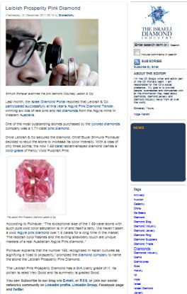IDI Blogs About The Leibish Prosperity Pink