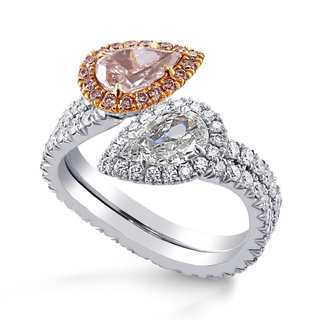 Twin Stone diamond ring. (3.08Ct TW) SKU:   29047V