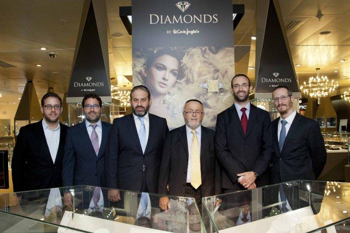 Leibish & Co. and Rominov Diamonds Presents El Corte Ingles Diamonds