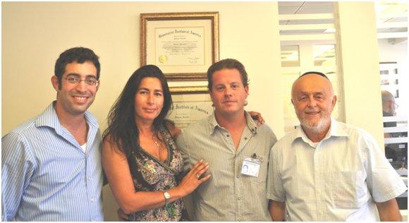 Leibish, Itzik, Paul, and Sara