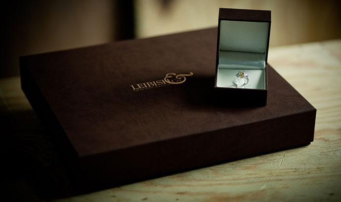 Leibish Jewelry Box