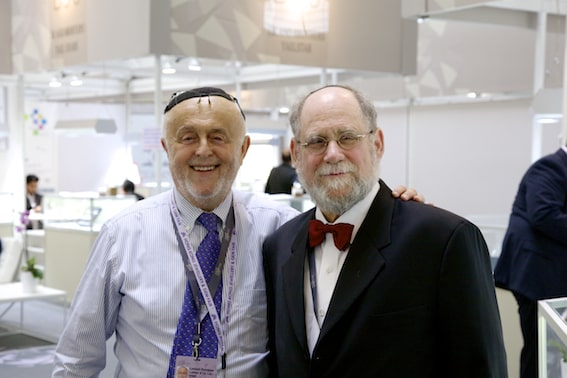 Leibish Polnauer and Martin Rapaport