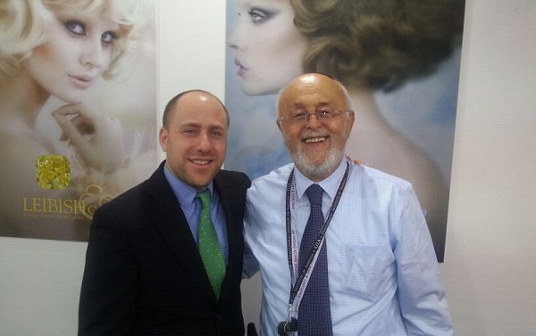 Leibish Polnauer and Mordy Rappaport - Hong Kong Show 2012