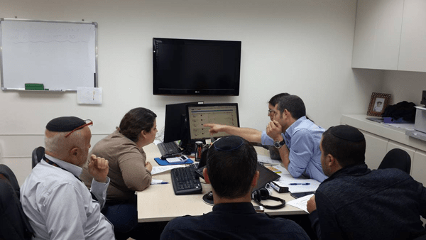 LEIBISH's Sales Team Strategizing