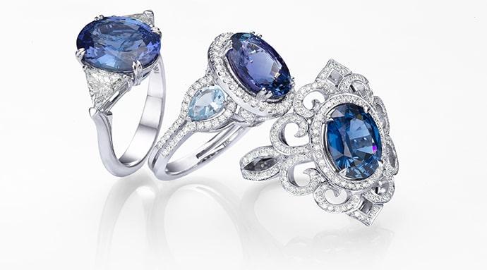 Leibish Sapphire Jewelry