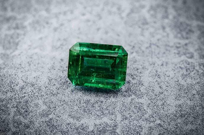 Loose emerald